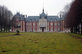 The chateau in Bois-Himont
