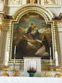 Boistrudan (35) Église Saint-Jacques-le-Majeur Retable du Rosaire 04.jpg