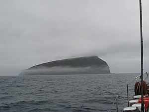 Bollons Island - Bollons Island, as seen from near Antipodes Island