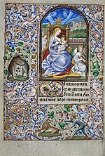 Book of Hours of Simon de Varie - KB 74 G37 - folio 017v.jpg