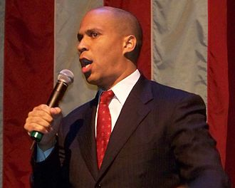 Cory Booker - Booker campaigning in Newark for Barack Obama in 2007