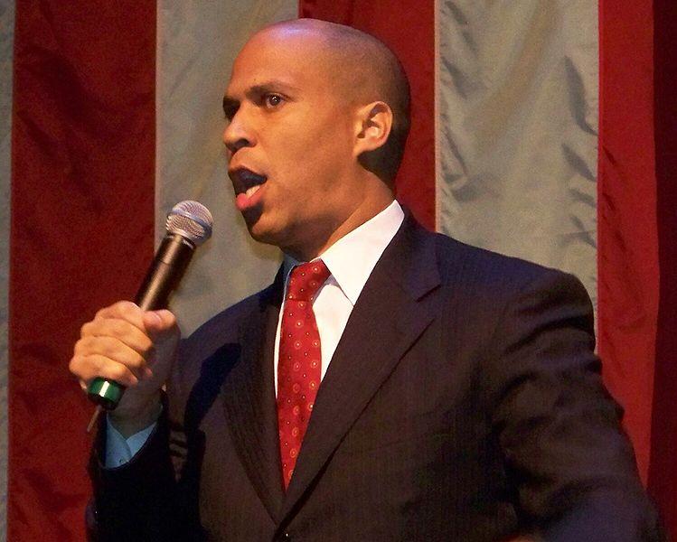 US Senator-elect Cory Booker