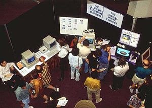 CyberArts International - The CyberArts International expositions were each an amalgam of educational conference, music festival, art exhibition, and trade show.
