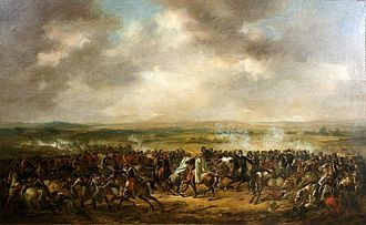 Battle of Bornhöved (1813) - Battle of Bornhöved by Per Krafft the younger