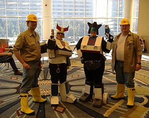 BotCon - Some of the many cosplayers present at BotCon