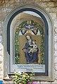 Bottega di giovanni della robbia, madonna col bambino del tabernacolo presso porta senese a civitella, 1522, 02.jpg