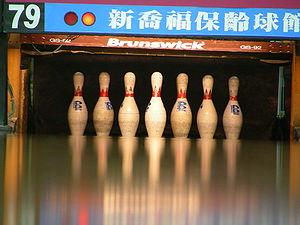 Bowling pin - Tenpins