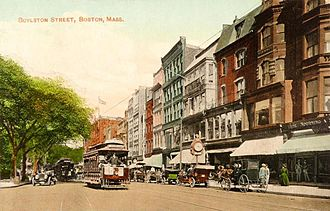 Boylston Street - Boylston Street in 1911