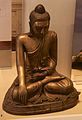 Brass Buddha from King Thibaw's palace.jpg