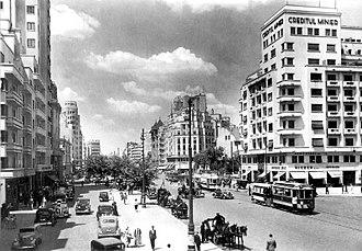 Bucharest - I.C. Brătianu Boulevard in the 1930s