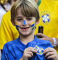 Brazil and Croatia match at the FIFA World Cup (2014-06-12; fans) 23.jpg