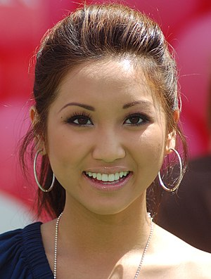 Brenda Song - Song at the Up premiere in May 2009
