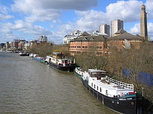 London Borough of Hounslow - The Thames at Brentford.