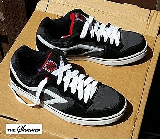 """Brian Sumner - The """"Sumner"""" skate shoe designed by Brian Sumner and named after him."""