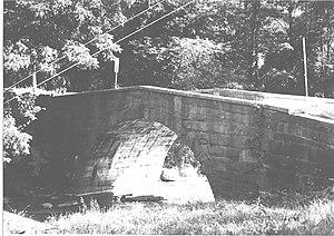 Bridge in West Wheatfield Township - Bridge in West Wheatfield Township, 1982