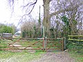 Bridleway, Ashley Barn - geograph.org.uk - 1174781.jpg