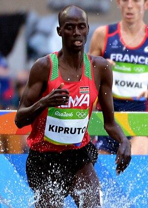 Brimin Kipruto - Image: Brimin Kipruto Rio 2016.2