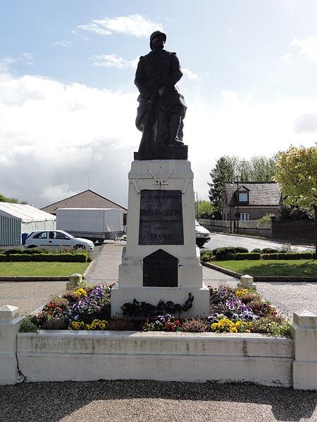 Brissay-Choigny (Aisne) monument aux morts