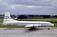 Bristol 175 Britannia 102 компании Britannia Airways