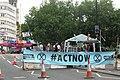 Bristol Climate Extiction protest 2019 (01) Bristol Bridge.JPG