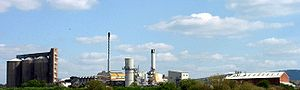 British Sugar - The facility at Allscott, Shropshire, closed in early 2007.