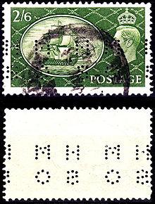 Perfin - Wikipedia