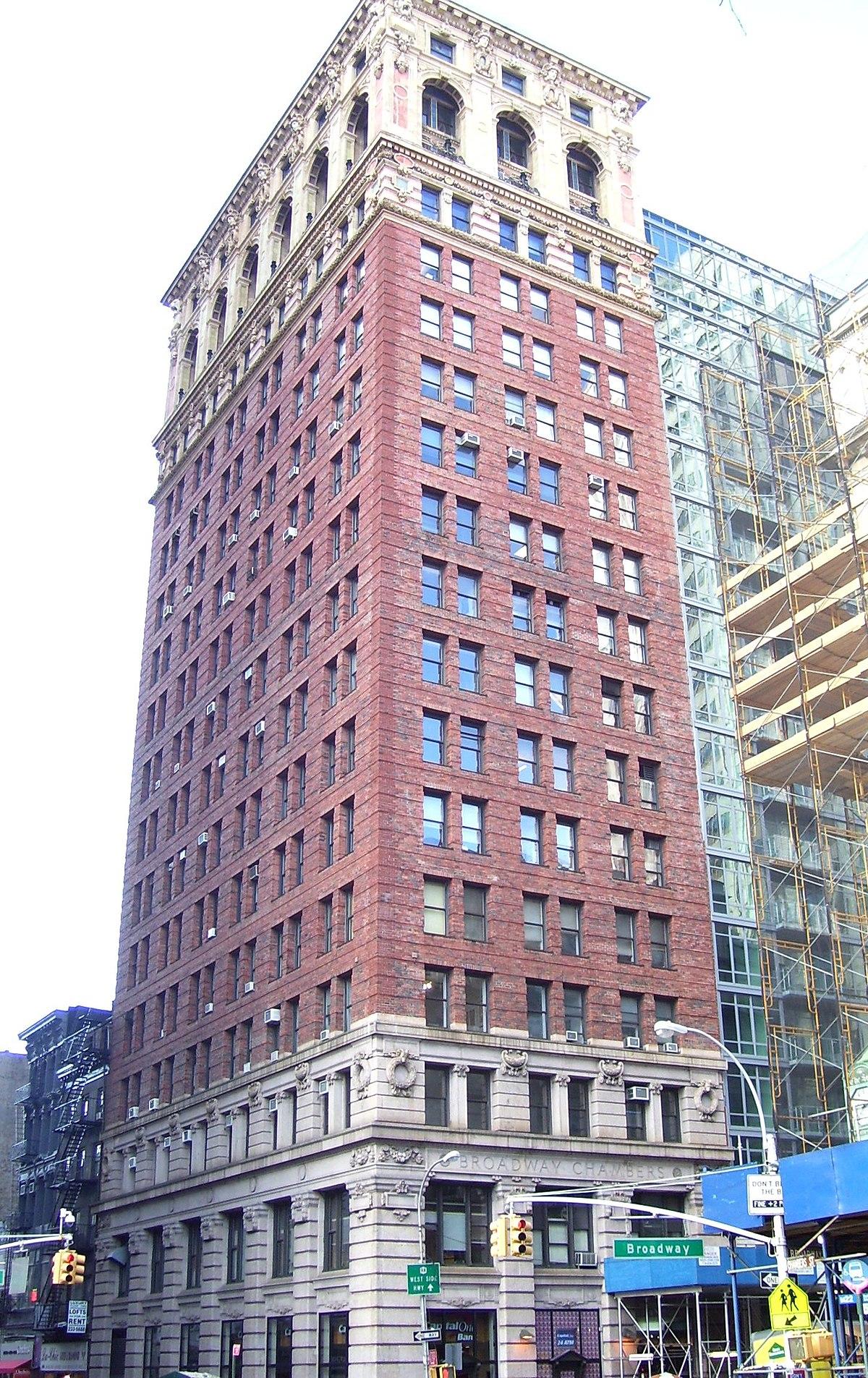 Broadway Ndash Chambers Building Wikipedia