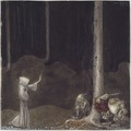 Brother St. Martin and the Three Trolls (John Bauer) - Nationalmuseum - 24306.tif