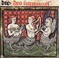 "Brunetto Latini ""Li livres dou tresor"" Mermaid with 5-point citole.jpg"