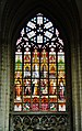 Bruxelles Co-Cathédrale St. Michel & Ste. Gudule Innen Buntglasfenster 03.jpg