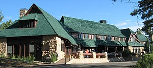 National Register of Historic Places listings in Garfield County, Utah - Image: Bryce Canyon Lodge