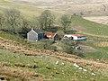 Bryn Glas from the drover's road, Cwm Pysgotwr Fawr, Ceredigion - geograph.org.uk - 1219078.jpg