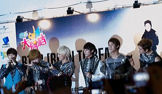 BtoB (band) - BtoB in Singapore at Bugis Junction on May 23, 2012