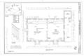 Buckingham Friends Meeting House, 5684 York Road, Lahaska, Bucks County, PA HABS PA-6224 (sheet 1 of 4).png