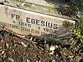 Bucuresti, Romania,Cimitirul Bellu Catolic, Fr. Egesius (Directorul Scoalelor Arhiepiscopale)(1) B-IV-a-B-20118.JPG
