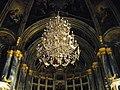 Bucuresti, Romania, BISERICA SFANTUL SPIRIDON CEL NOU (interior - candelabru).jpg