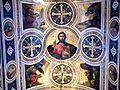 Bucuresti, Romania, Biserica Greaca (Buna Vestire), Pache Protopopescu nr. 1-3; B-II-m-A-19472 (plafon).JPG