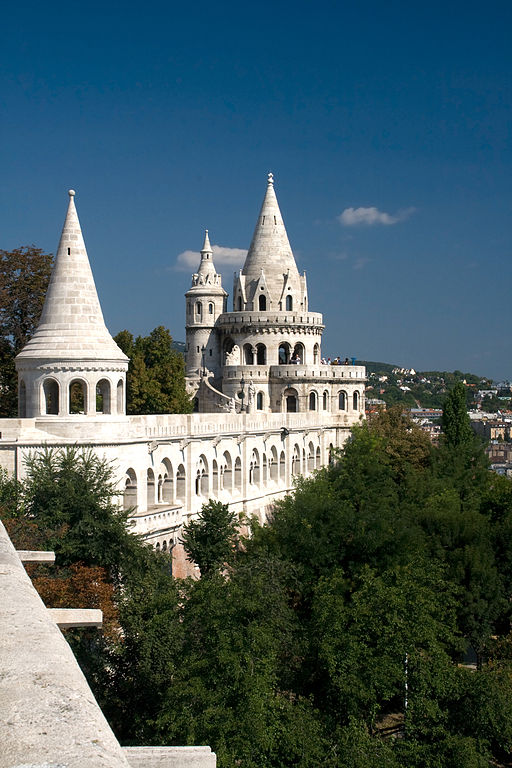 The Fisherman's Bastion in Budapest.