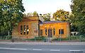 Budynek sztabu koszar 64 Kazańskiego Pułku Piechotu ul. Traugutta 3 w Białymstoku.JPG