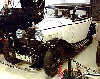 Bugatti 8-cylinder line - Bugatti Type 40 1929