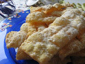 Angel wings - Homemade Chiacchiere