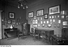 Ausstellungsraum im einstigen Lessing-Museum Berlin, 1932 (Quelle: Wikimedia)