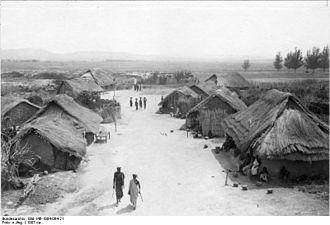 Tabora - Street in Tabora (1907)