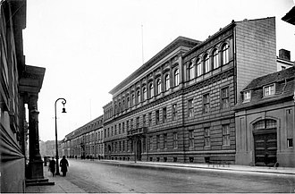 Federal Foreign Office - Foreign Office on Wilhelmstraße in 1927