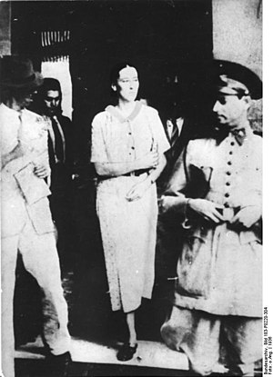 Olga Benário Prestes - Olga Benário Prestes during her imprisonment in Brazil in 1936. She was shortly afterwards deported to Germany and murdered by the Nazis in Ravensbrück.