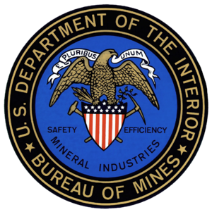 United States Bureau of Mines - Image: Bureau of Mines Transparent
