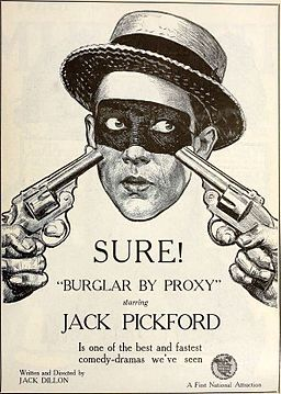 Burglar by Proxy (1919) - Ad