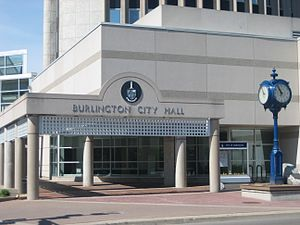 Burlington City Council - Burlington City Hall