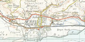 Burry Port - Burry Port in 1952.
