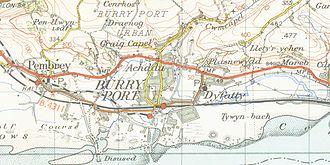 Burry Port - Burry Port in 1952.